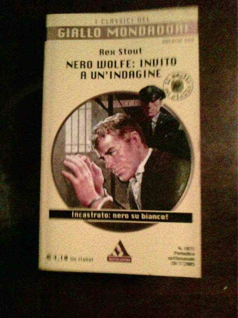 Rex Stout - Nero Wolfe:invito a un'indagine
