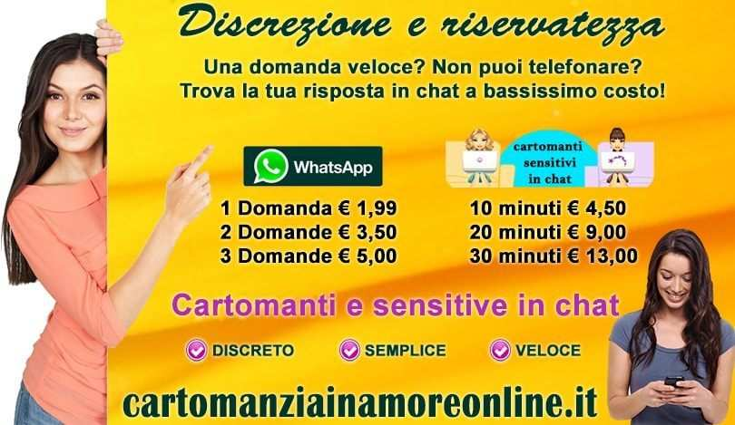 CARTOMANTI ONLINE CONSULTO A BASSISSIMO COSTO