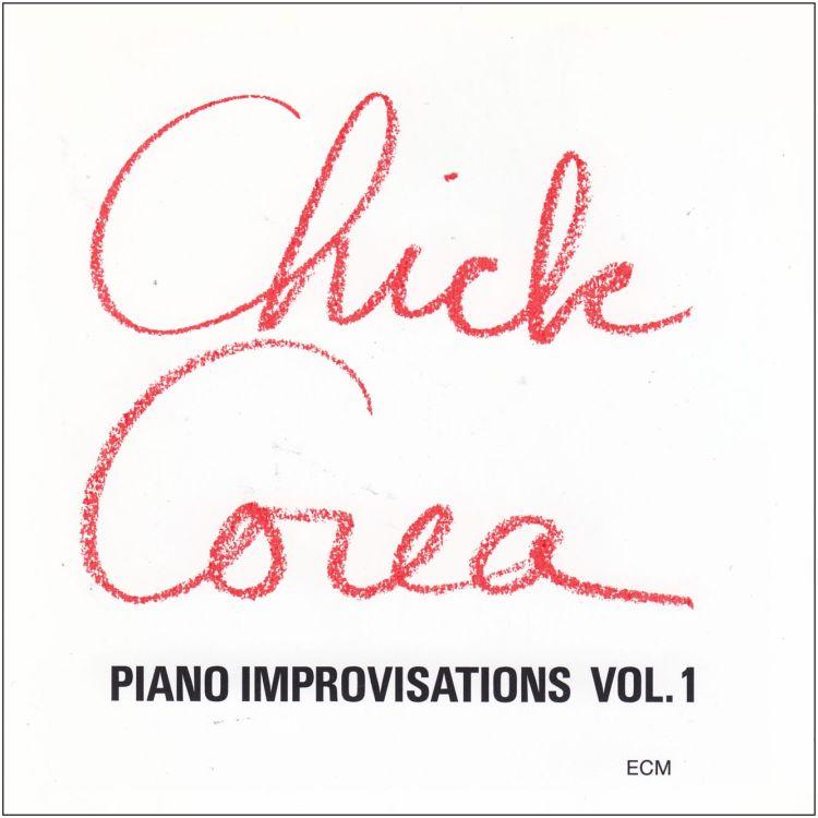 CD CHICK COREA PIANO IMPROVISATIONS VOL.1 NUOVO ORIGINALE