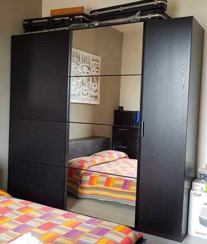 Armadio IKEA Pax Componibile con specchio 3 ante