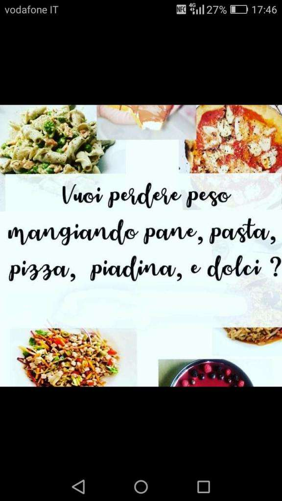 Perdi PESO mangiando Pasta, Pane e Dolci