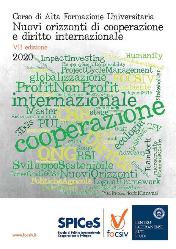 Nuovi orizzonti di cooperazione e diritto internazionale