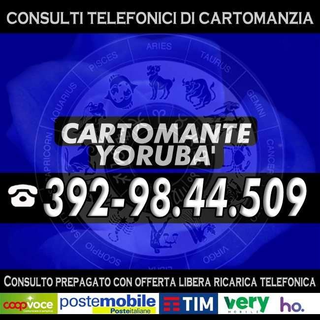 Astrologo, Cartomante e Sensitivo a tua disposizione per un consulto telefonico di Cartomanzia