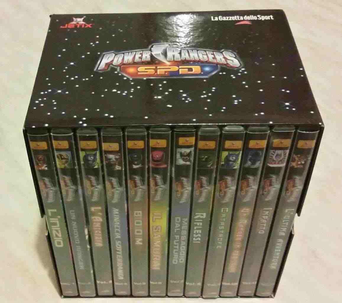 POWER RANGERS SPD COFANETTO 12 (DVD) GAZZETTA DELLO SPORT