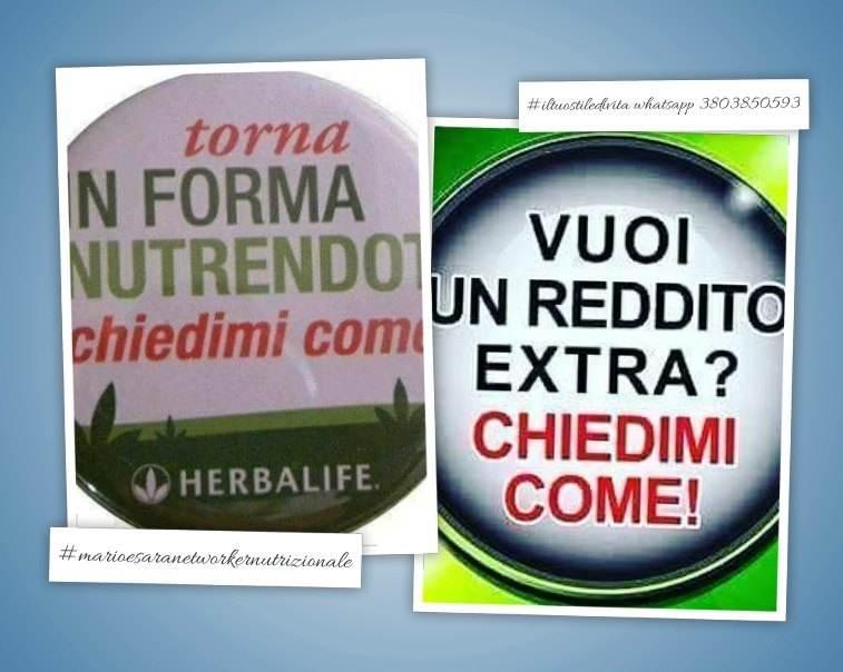 Attività autonoma settore benessere alimentare.