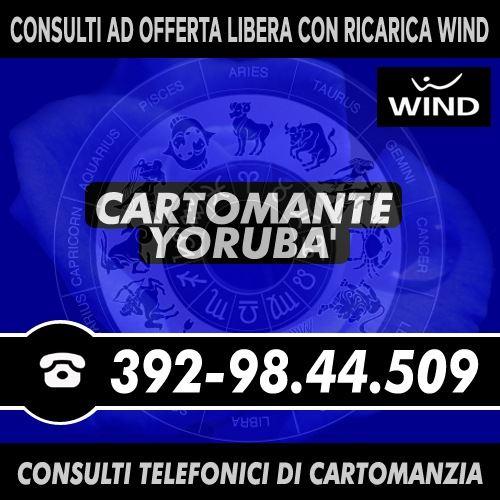 Consulto esoterico di Cartomanzia al telefono: Studio di Cartomanzia Cartomante Yoruba'