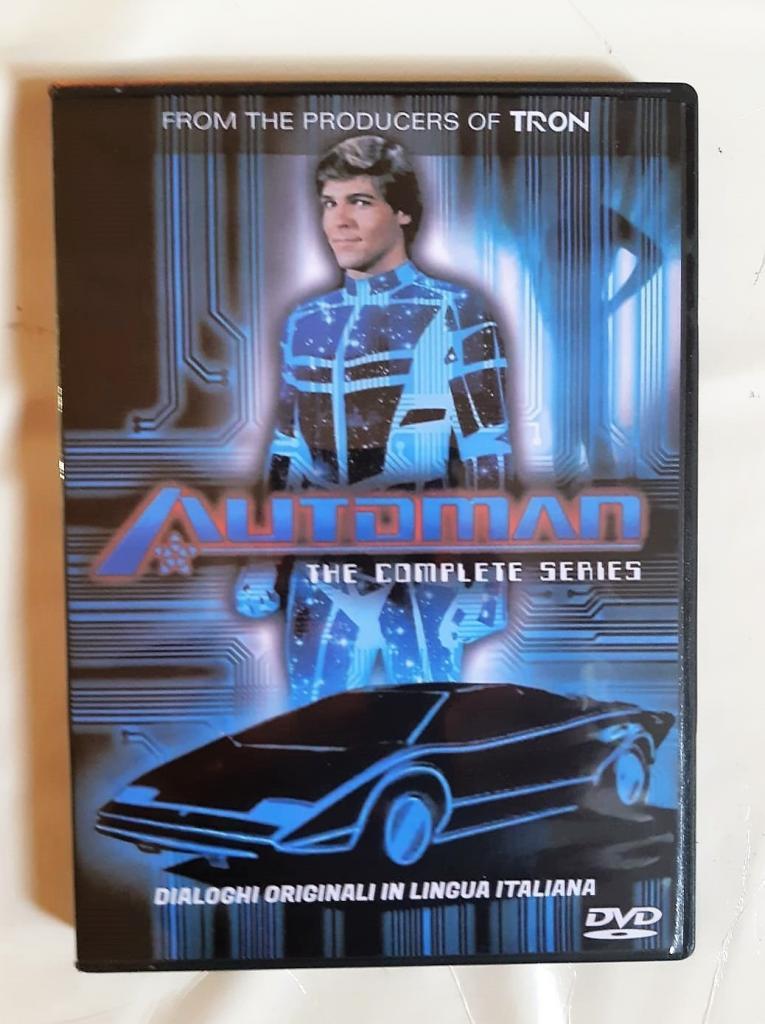 Automan serie TV completa in box dvd