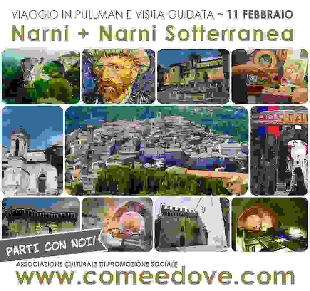 Gita a Narni e Narni Sotterranea - 1 giorno fuori Roma