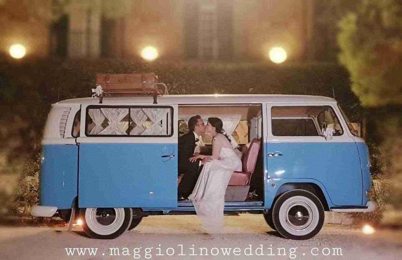 Noleggio auto Pulmino volkswagen t2 bulli vintage Benevento