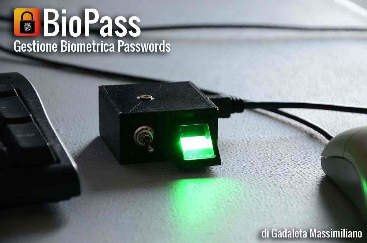 BioPass, modulo biometrico per la gestione delle password