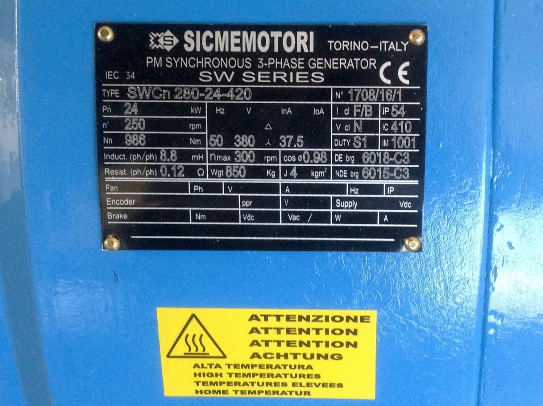 Sicmemotori generatore sincrono