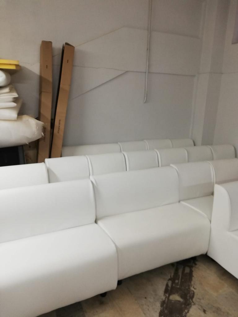 18 pz divani panche bar