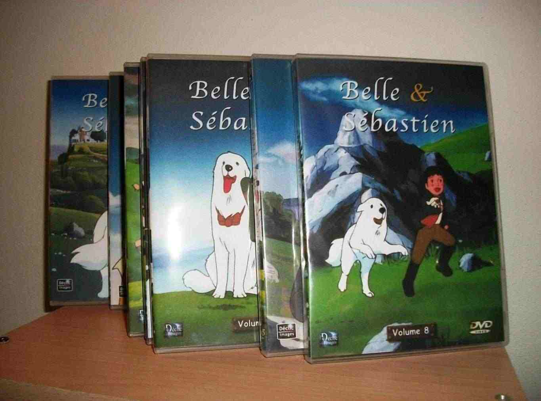 Belle et Sebastien tutta la serie completa in 13 dvd