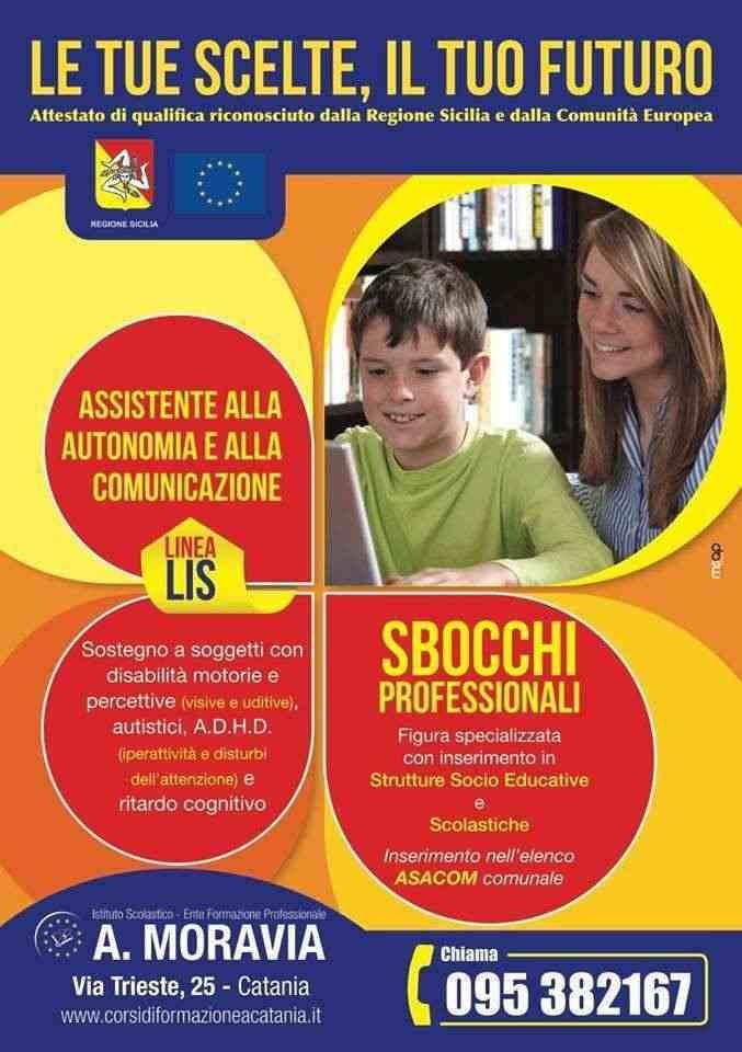 Corso ASACOM - Assistente all'Autonomia e alla Cominicazione