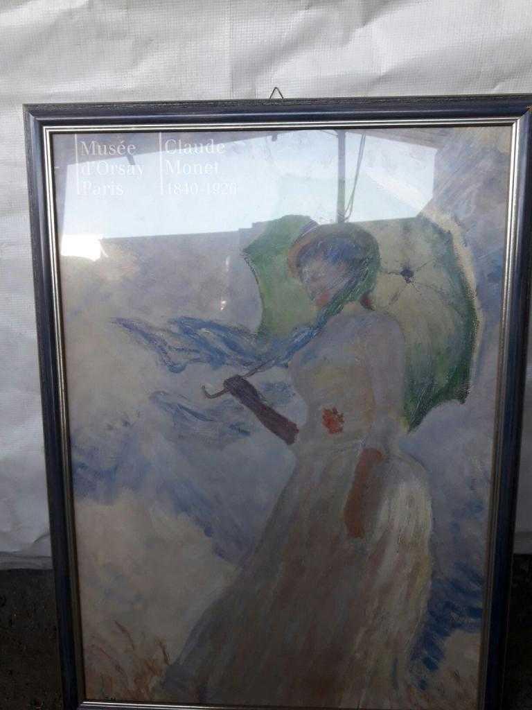 Quadro  Donna con parasole