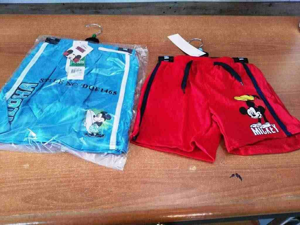 shorts disney a 3 euro