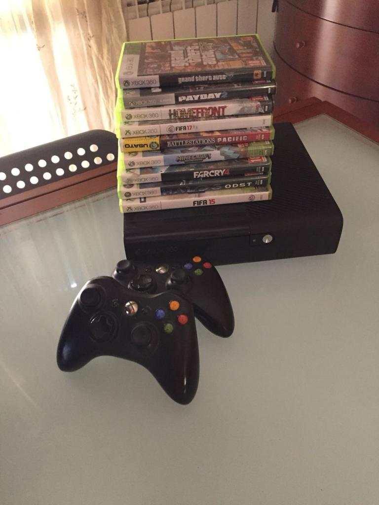 Xbox 360 e 9 giochi + Wii e 7 giochi
