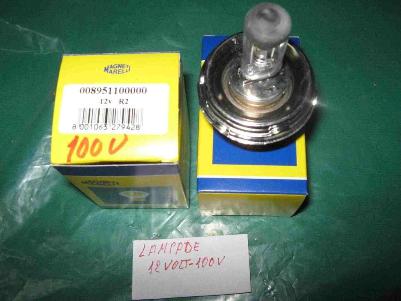 Lampade H5 12v-100 w in sostituzione alla lampada asimmetrica per vetture d'epoca