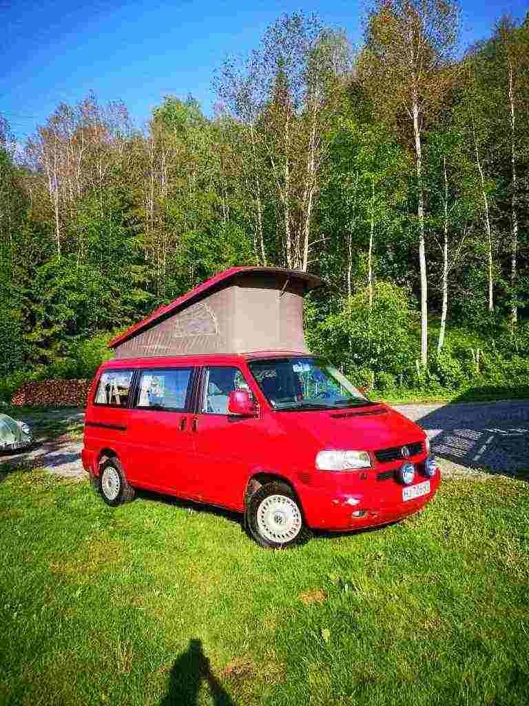 camping car Volkswagen California Westphalia