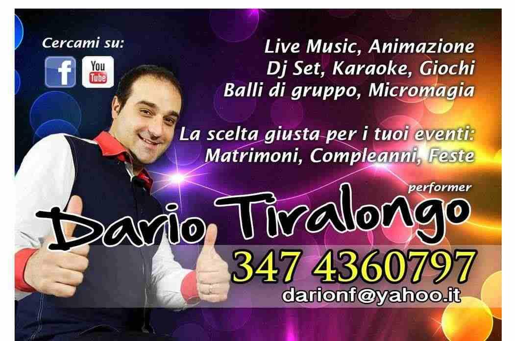 Musica ed animazione per Matrimoni, compleanni ed eventi SICILIA