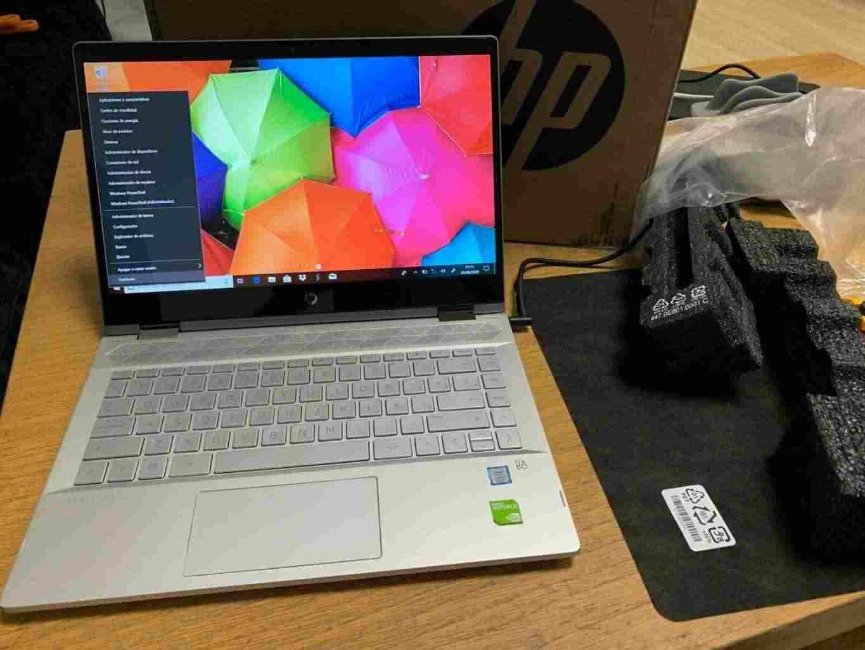 HP X360 14-CE0013NS, i7-8550U, 8 ram, 256 GB