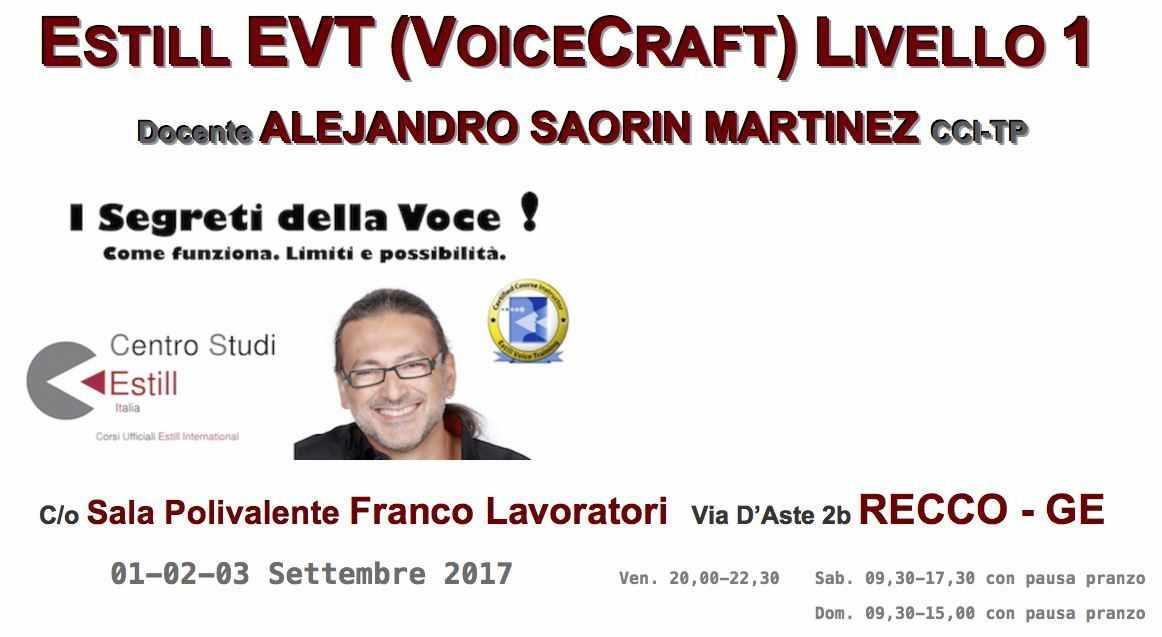 Tecnica Vocale Estill EVT (VoiceCraft)