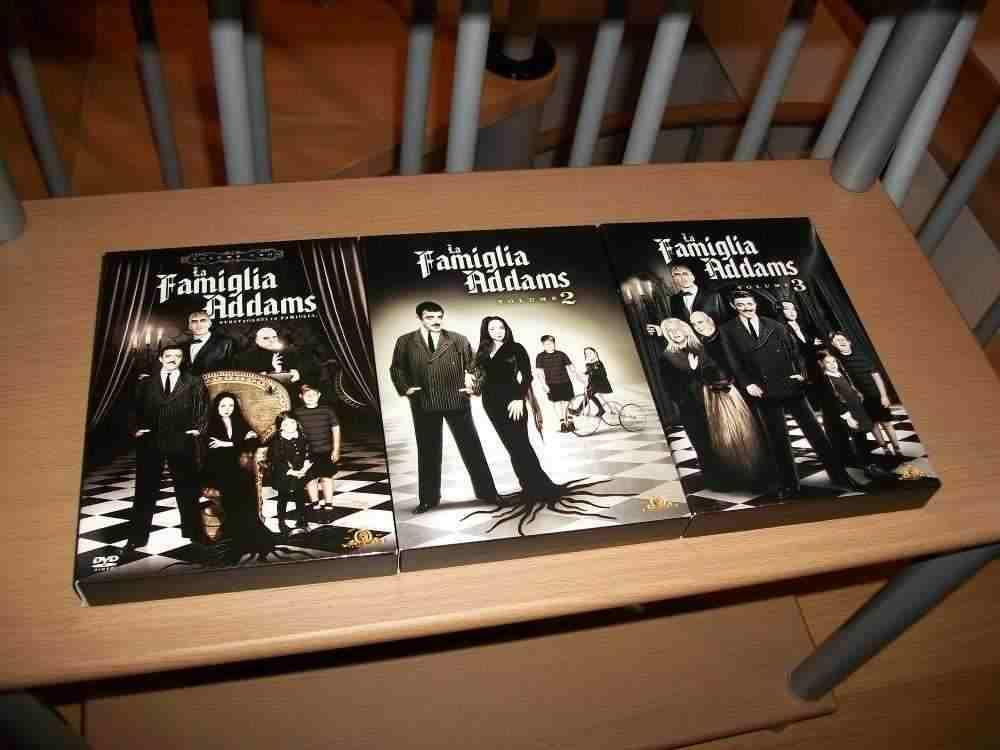 La Famiglia Addams tutte le serie complete in box dvd