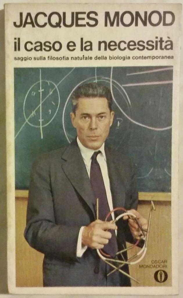Il caso e la necessita'  Jacques Monod 1°Edizione Mondadori 1974 ottimo